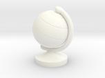 Dollhouse Miniature Student's Globe (9 mm diameter