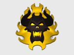 60x Burning Demon : Shoulder Insignia pack