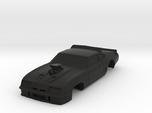MFP Interceptor, AFX Mega G+ 1/64 Slot Car Body
