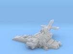 6mm Crashed Imperial Navy Fighter w/ Pilot