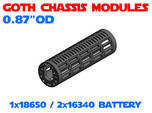 GCM087 - 18650 Battery chassis