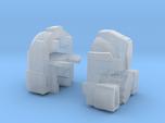 Fizzle Warrior Head for Combiner Tank