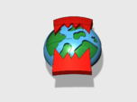 60x World Wreckers : Shoulder Insignia pack