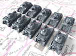 1/700 French Renault R35 Light Tank x10