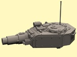 28mm Invader tank turret