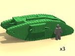 6mm WW1 Mk.IV Female tank (Britain)