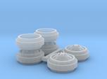 1/64 Alcoa Dually Rims (1 Set)
