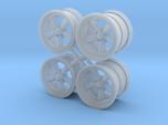 A/R 1/25 torque thrust set