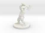 Dwarf Barbarian with Warhammer