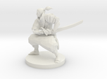 Samurai with Crossbow on back