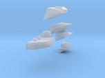 1:350 Scale USS Carl Vinson (1993-1998) Sponson Up