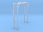 O Scale Pipe Bridge Single Track