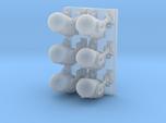 1/144 Spaceship Diorama Robots