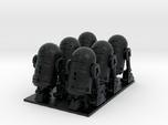 1/72 Spaceship Diorama Robots