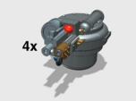 4x Flamefire Hatch Turret (Troop Tank)