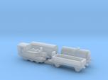 1/1200th scale train set I (4 pieces)