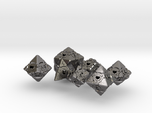 Companion Cube Polyhedral 7 Dice Set (+ decader)