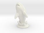 Jumping Great White Shark Table prop
