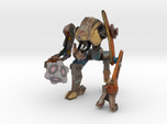 DOG from Half Life 2, holding a Companion Cube