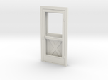 Door, Single with Screen, 39in X 82in, 1/32 Scale
