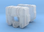 Garnetron Bot Head (2 Parts)