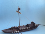 Medieval Teutonic Riverboat