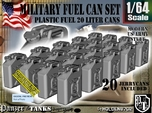 1/64 Military Fuel Can Set201