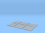 ManHoleCover - Plaque d'égout - HO - 1/87 (x6)