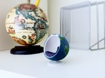 Bubble Chair: Planet Earth/Globe/Map (1:24 Scale)