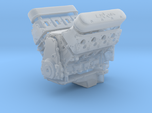 LSX 454 1/25 engine w/valley cover (V2)