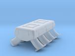 LS3 1/24 dual carb intake no injectors