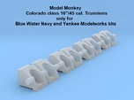 """1/350 Colorado class 16"""" Trunnions (for BWN)"""