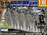 1/48 German Artillery Crew Set001-02