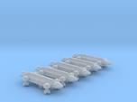 1/1000 Scale 2050 Standard War Eagles x5