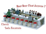 Soda Fountain Super Detailed HO Scale