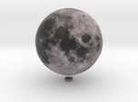 "Moon /12"" Earth globe addon"
