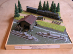 1/144th scale WW2 Hungarian armoured boat
