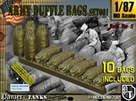 1/87 Army Duffle Bags Set001