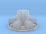 Sci fi module / space hub, shield generator