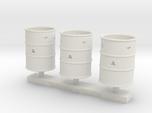 Corroded-Open Top Barrels