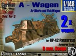 1-148 2x A-Wagen For BP-42
