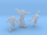 Gargoyles - Complete Set - 3 Miniatures 28/30mm Sc