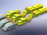 V2 Rocket Supply Convoy 1/285 6mm