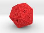 20 Sided Maze Die V2