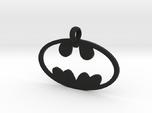 Batman necklace charm