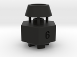 Schumacher Cat / Cougar wheel hex adaptor - 6mm