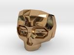 Lapidated Skull - Size 10 (inner diameter = 19.76