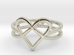Woven Heart collection: ring