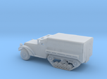 1/87 Scale M3 Halftrack with cover