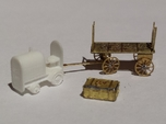 Baggage Cart Tractor N Scale